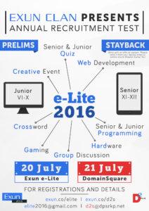 e-Lite Poster